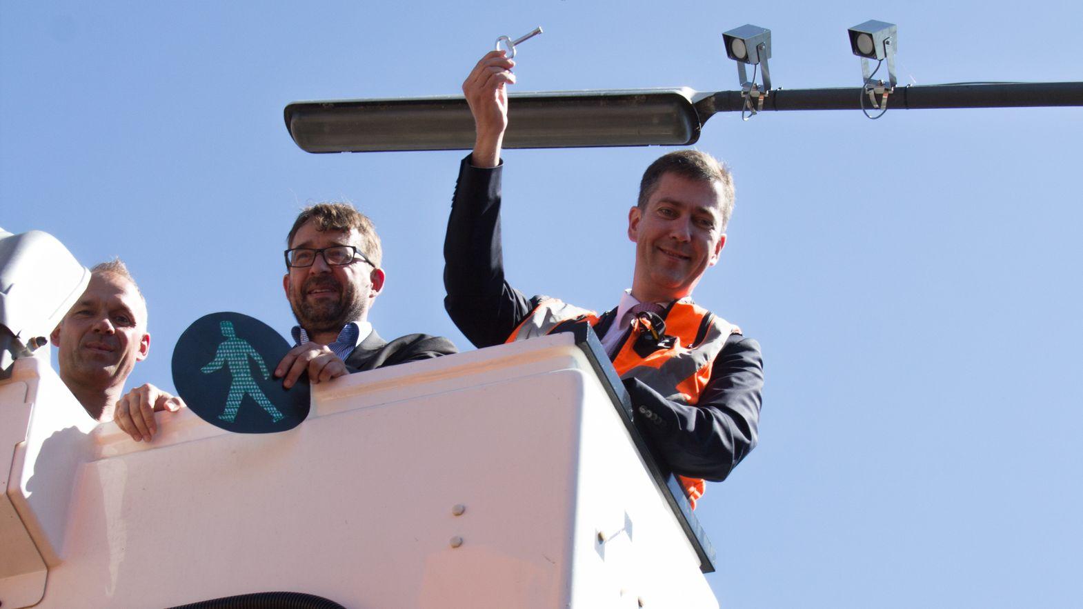 Würzburger Oberbürgermeister Schuchardt gibt Startschuss für ein Umweltorientiertes Verkehrs- und Mobilitätsmanagement (UVM)
