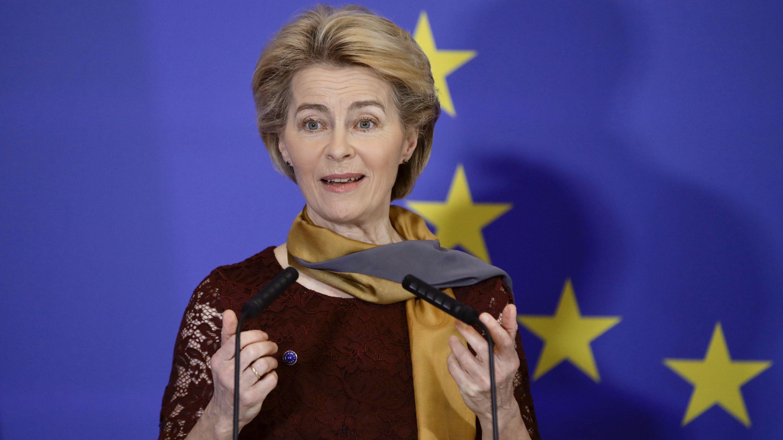 Die neue EU-Kommissionspräsidentin Ursula von der Leyen