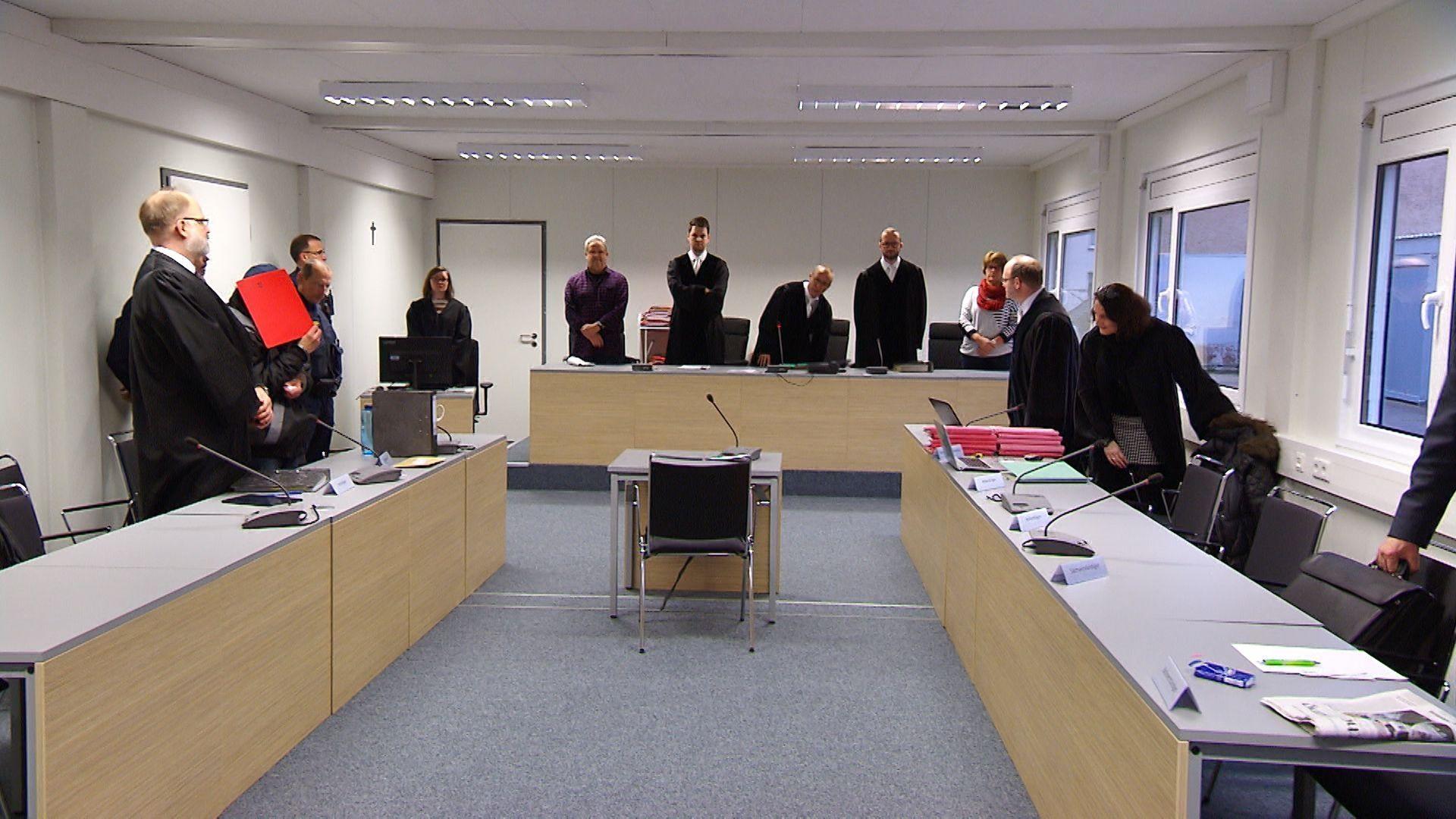 Mordprozess in Aschaffenburg