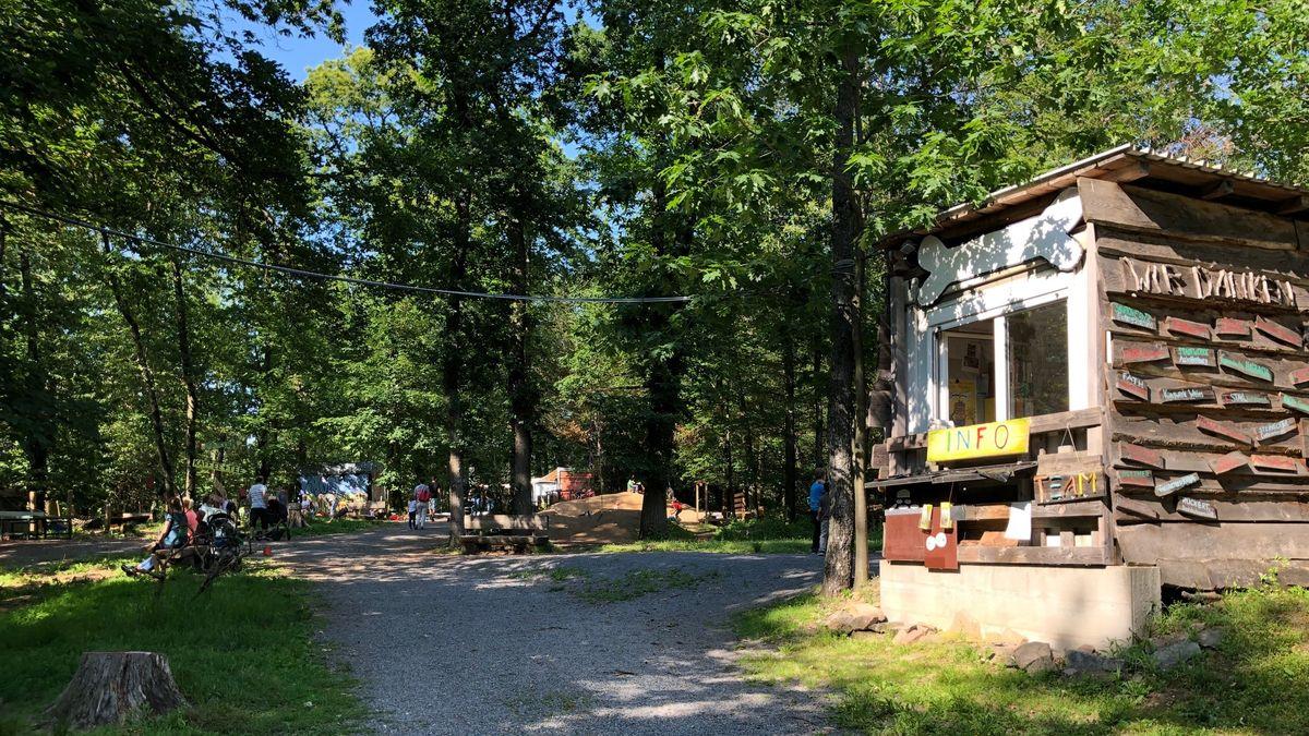 """Abenteuerspielplatz """"Knochengarten"""" in Haibach"""