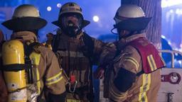 Einsatzkräfte der Feuerwehr (Symbolbild). | Bild:dpa-Bildfunk/Soeren Stache