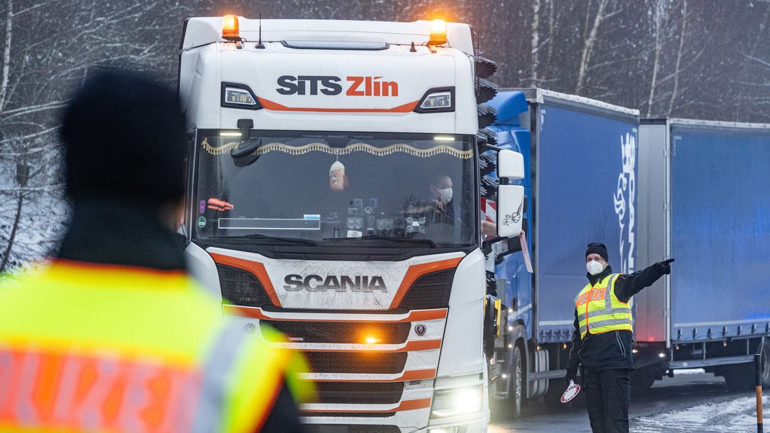 Verkehrslage an deutsch-tschechischer Grenze