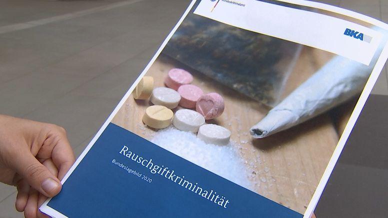 Bericht, Rauschgiftkriminalität   Bild:BR