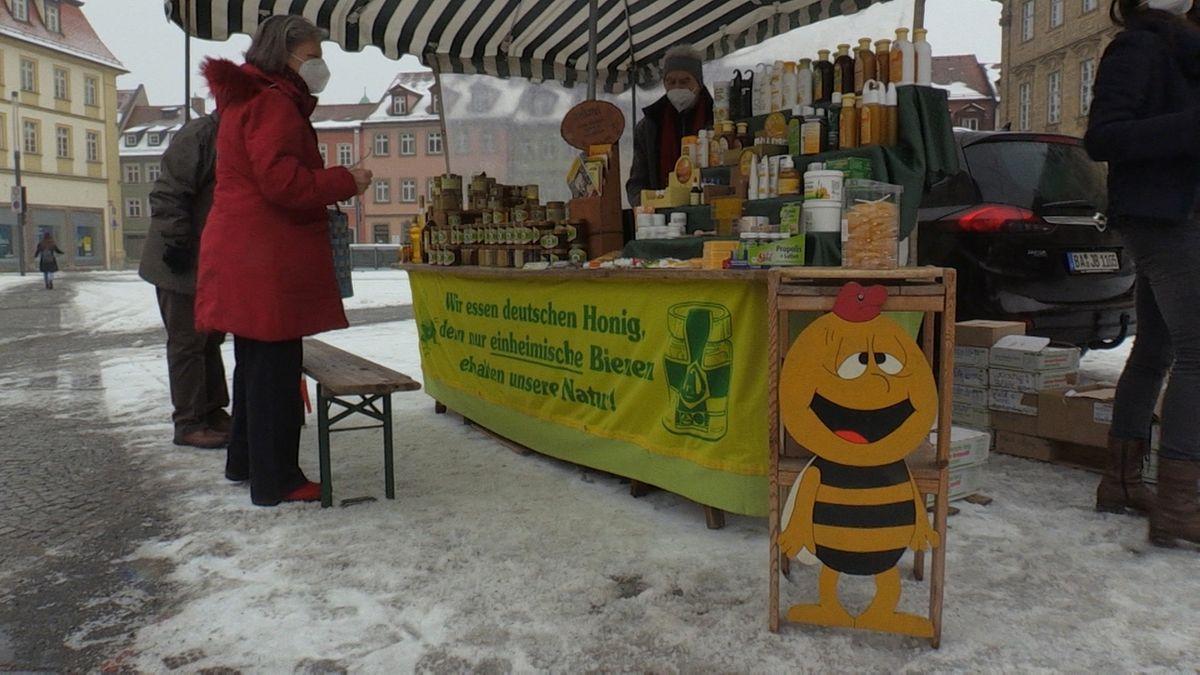 Mit Einschränkungen: Bamberger Honigmarkt findet statt