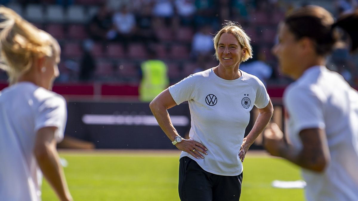 DFB-Bundestrainerin Martina Voss-Tecklenburg