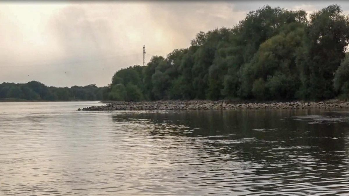 Die Badestelle an der Donau wirkt einladend - birgt aber große Gefahren