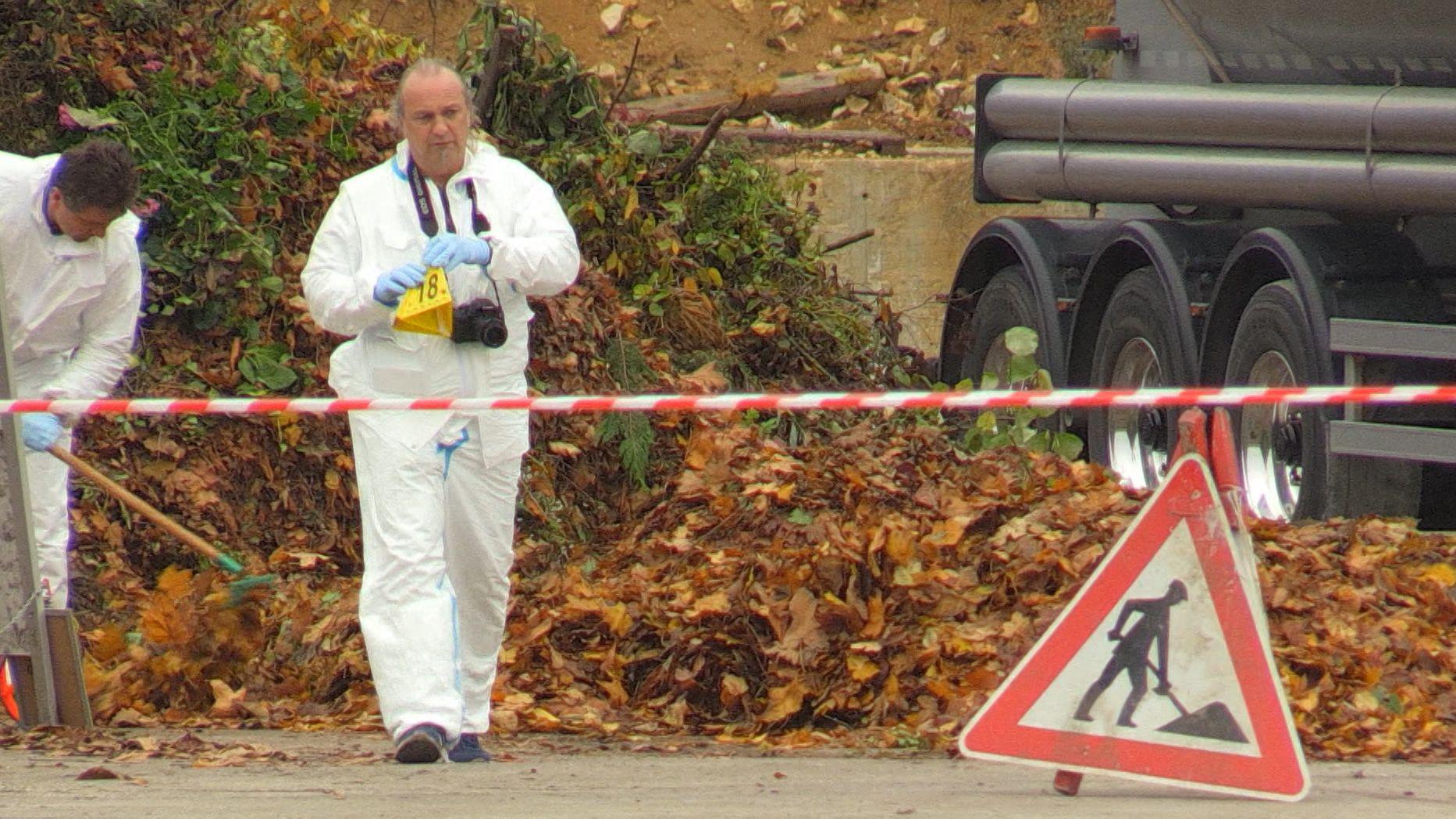 Auf dem Gelände einer Spedition wurde eine männliche Leiche entdeckt.