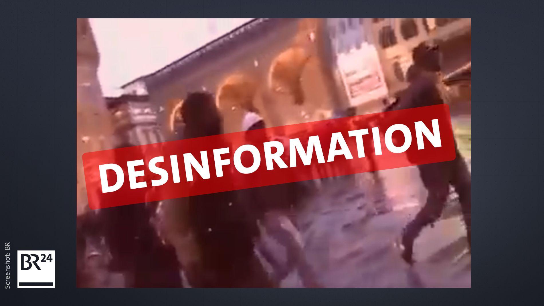 Das umstrittene Video zeigt zu Beginn die Loggia dei Lanzi in Florenz.
