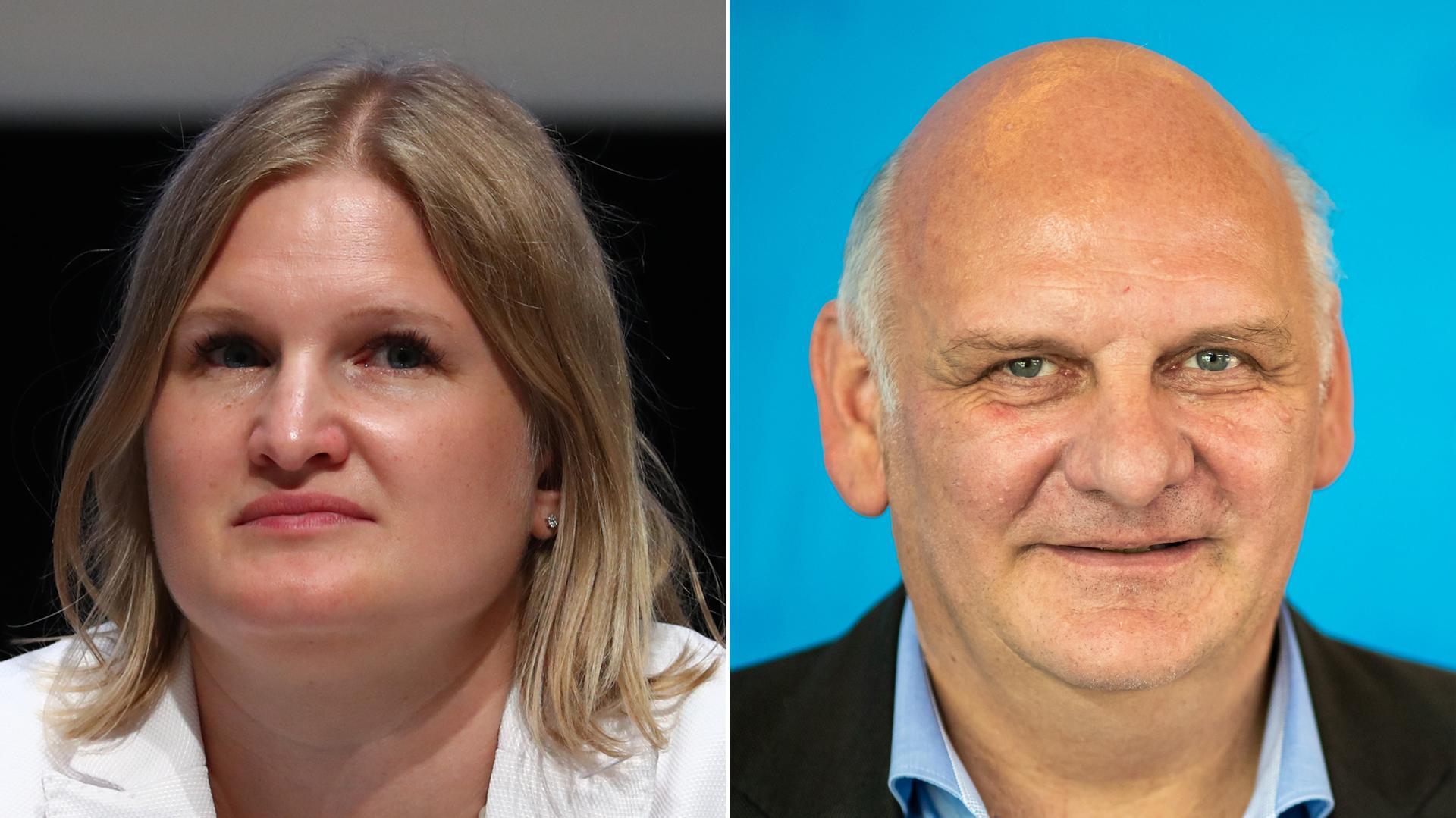Katrin Ebner-Steiner und Franz Bergmüller