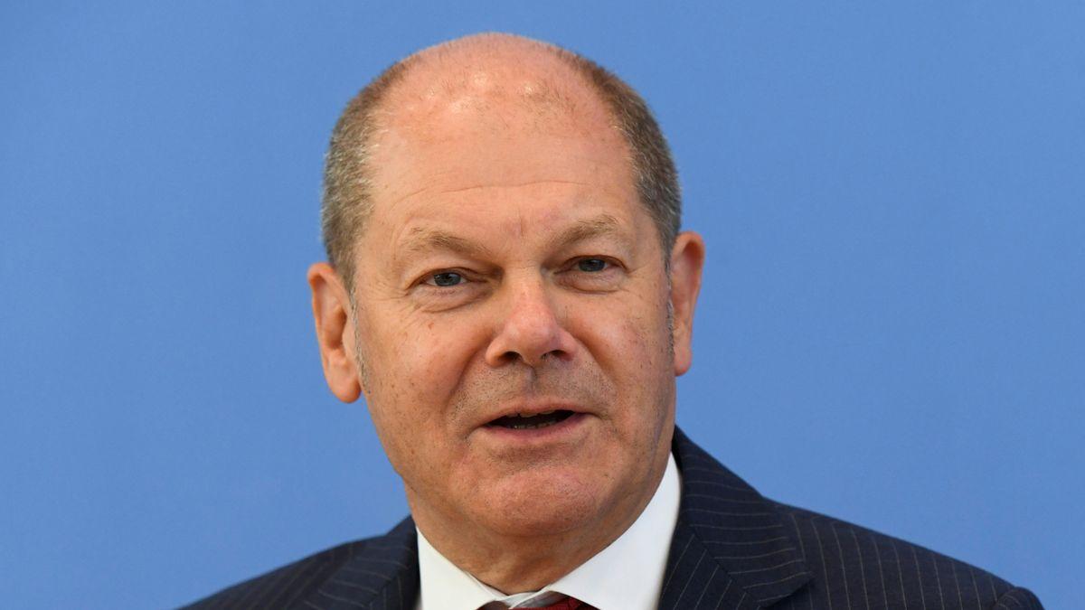 Finanzminister Scholz hält die steigende Schuldenquote des Bundes wegen der Corona-Krise für verkraftbar.