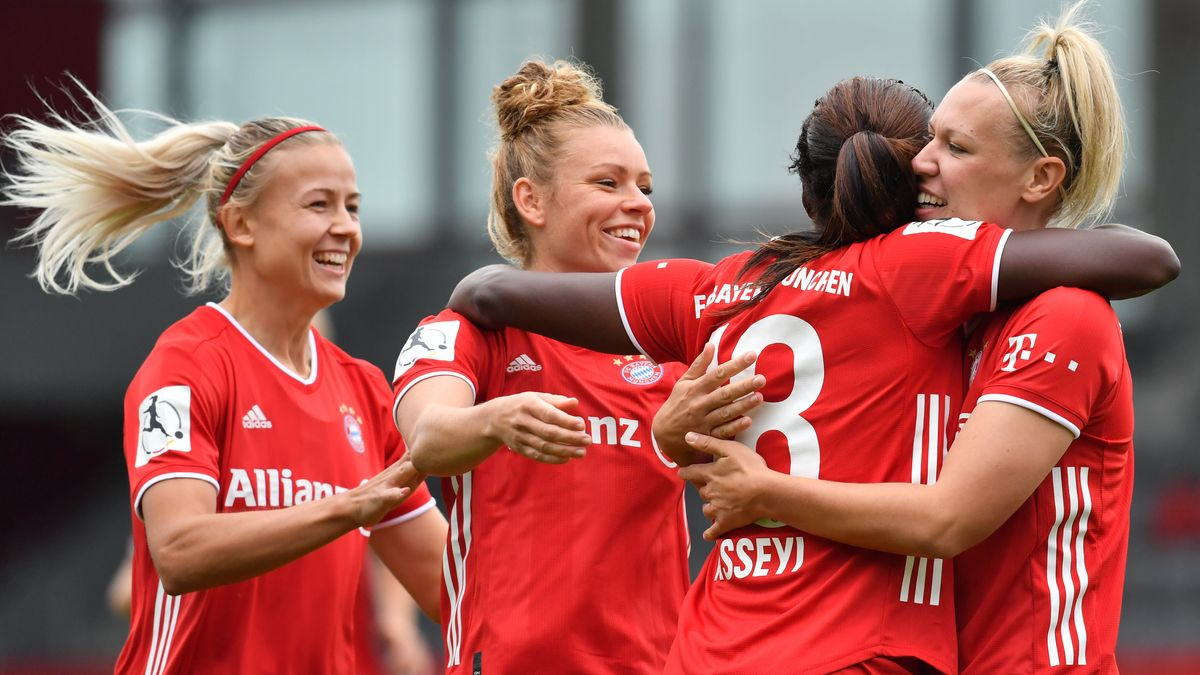 Jubel der Bayern-Frauen