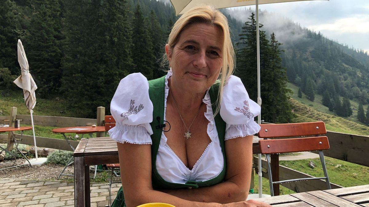 Monika Becht, Hüttenwirtin der Priener Hütte