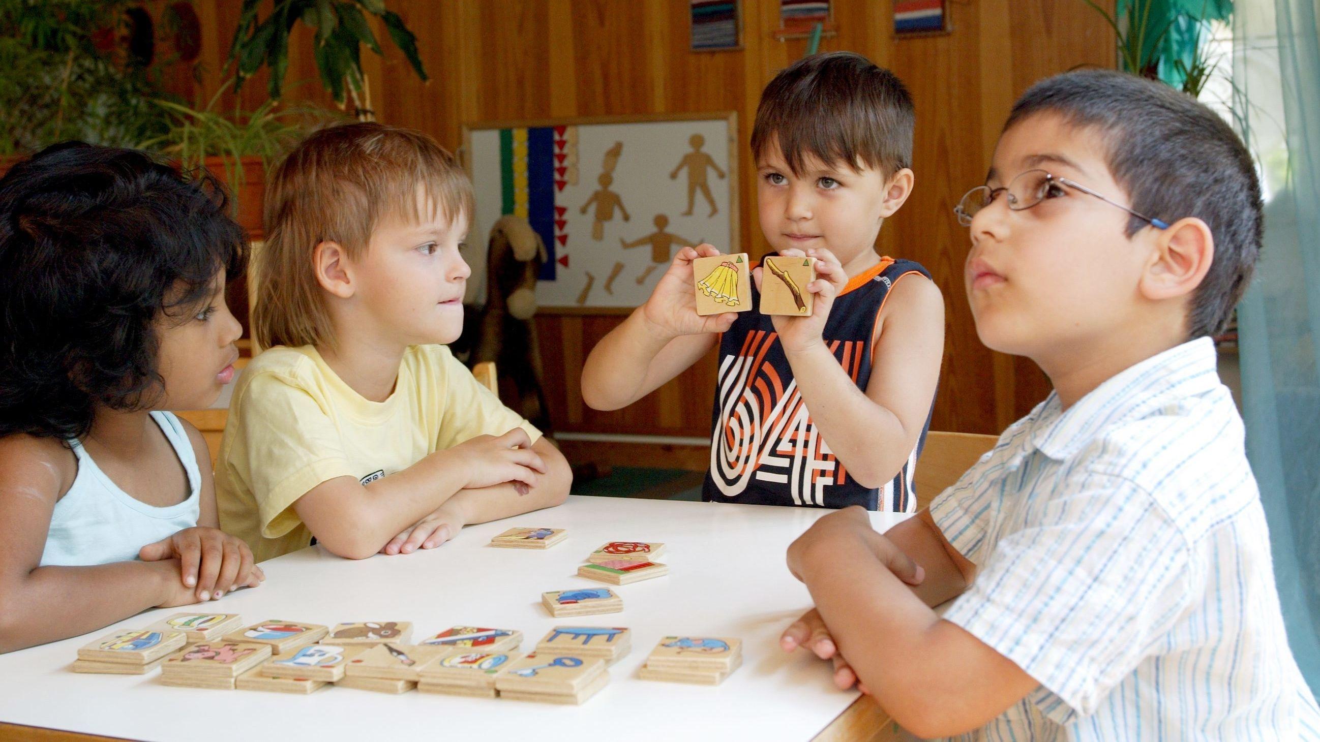 Sprachförderung in einer Kindertagesstätte