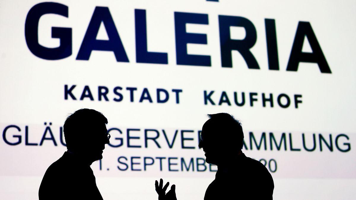Gläubigerversammlung Galeria Karstadt Kaufhof