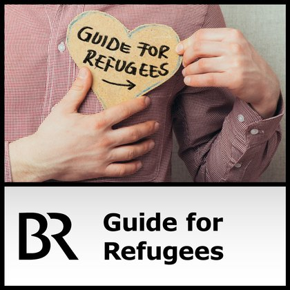 Podcast Cover Guide for Refugees | © 2017 Bayerischer Rundfunk