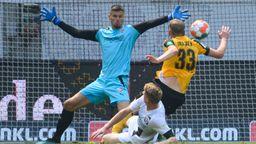 Das Dresdner 1:0 gegen Ingolstadt   Bild:picture-alliance/dpa