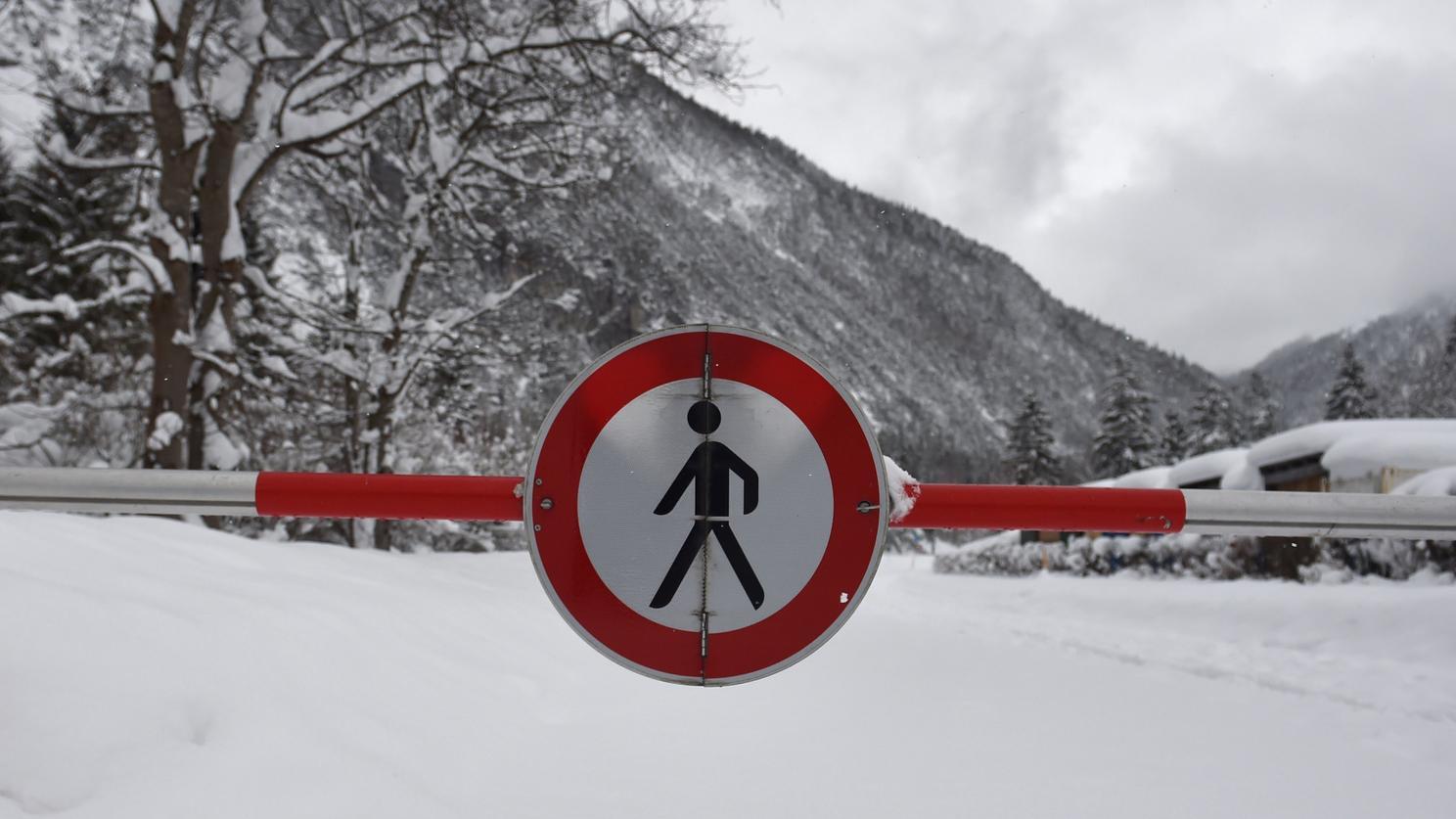 Sperrungen in Bayern
