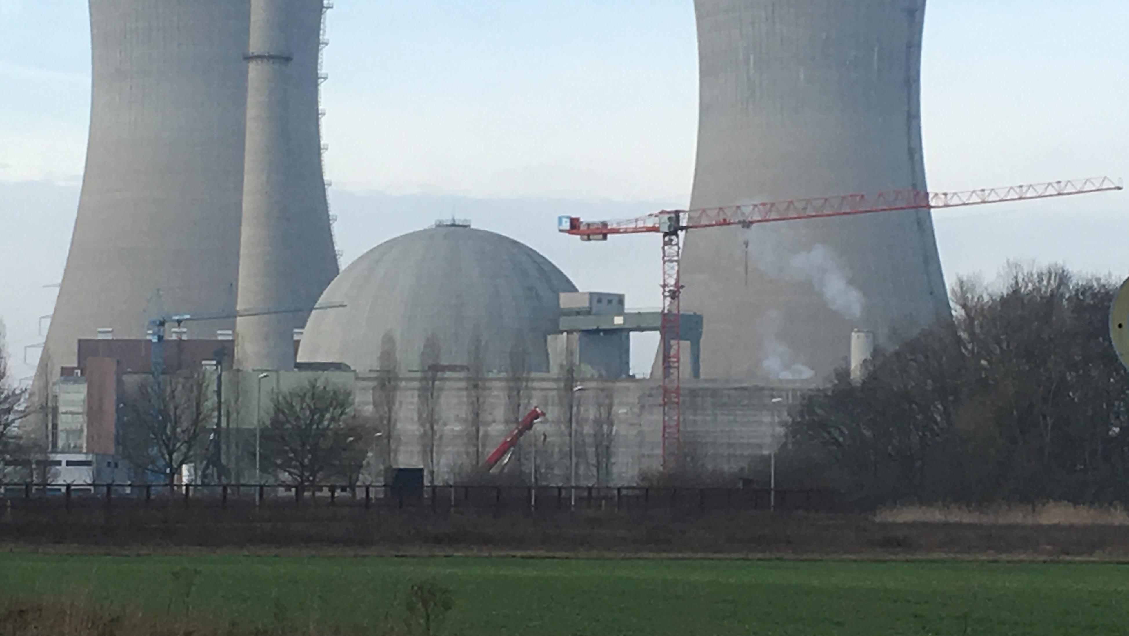 Neue Bereitstellungshalle des AKW Grafenrheinfeld