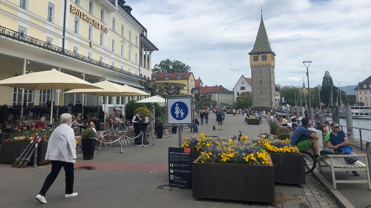 Promenade am Lindauer Hafen