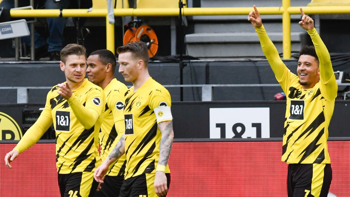 Dortmunder Torjubel in der Partie gegen RB Leipzig