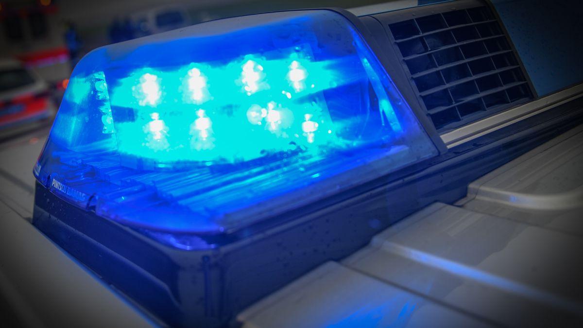 Polizei Blaulicht (Symbolfoto)