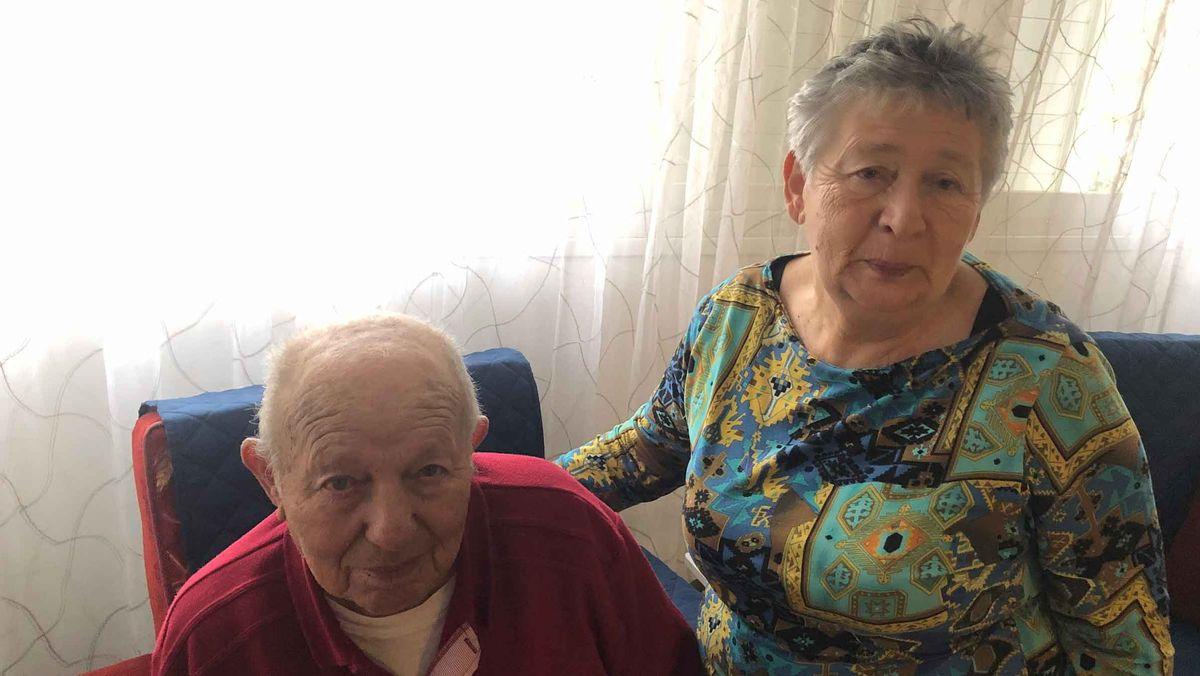 Rentnerin Ora und ihr Ehemann