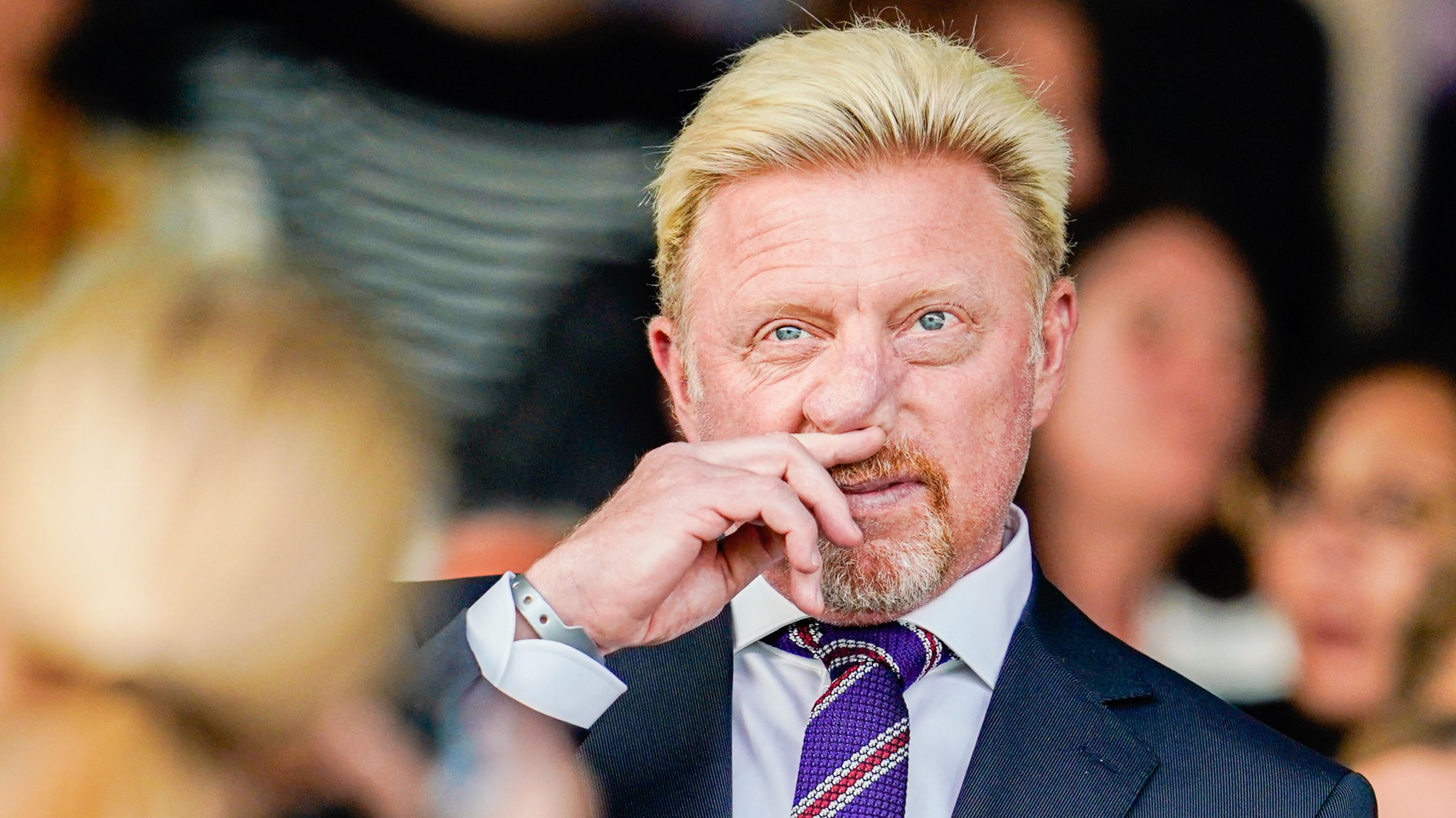 Tennisidol Boris Becker