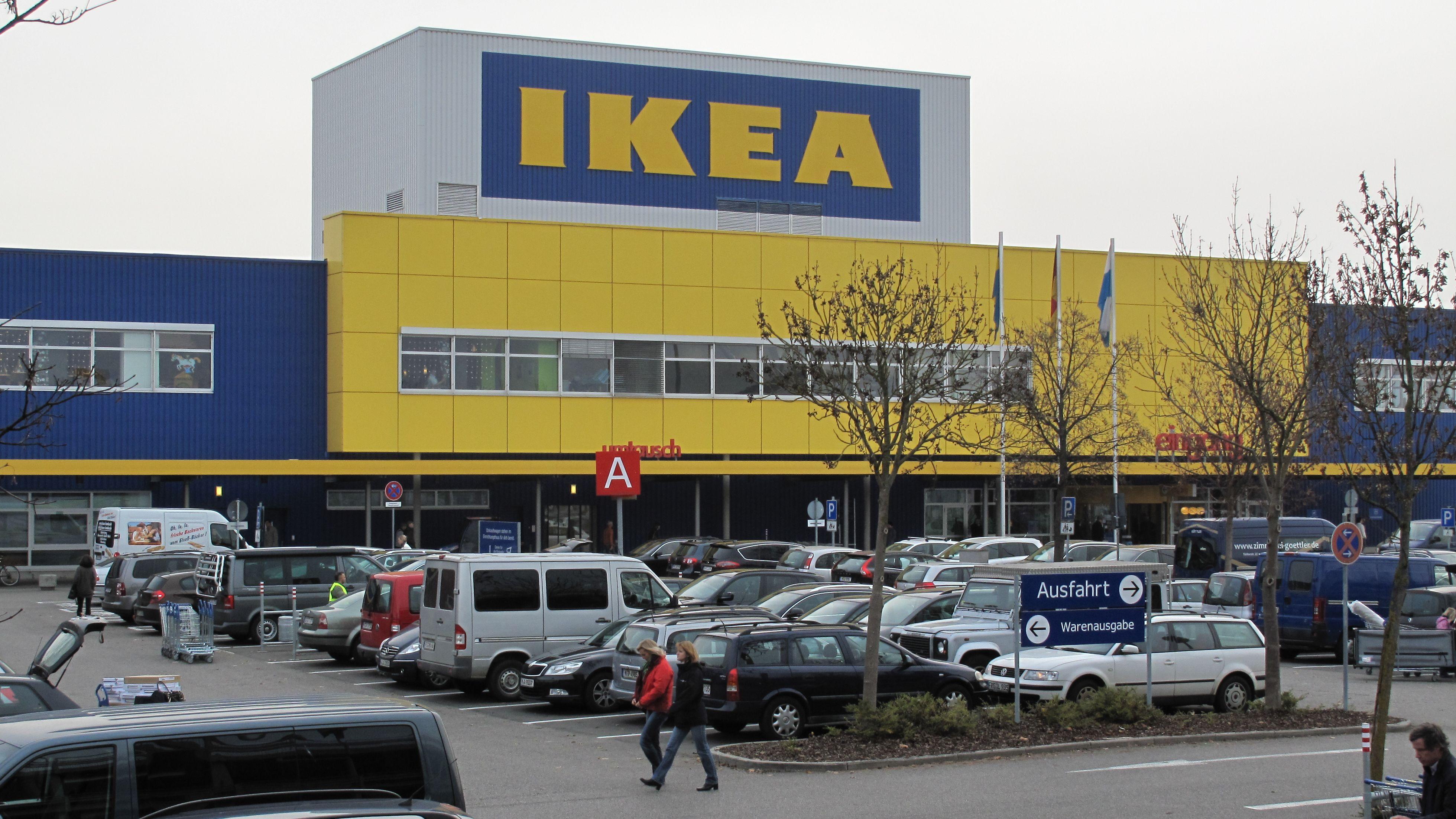 Ikea-Einrichtungshaus in München-Eching