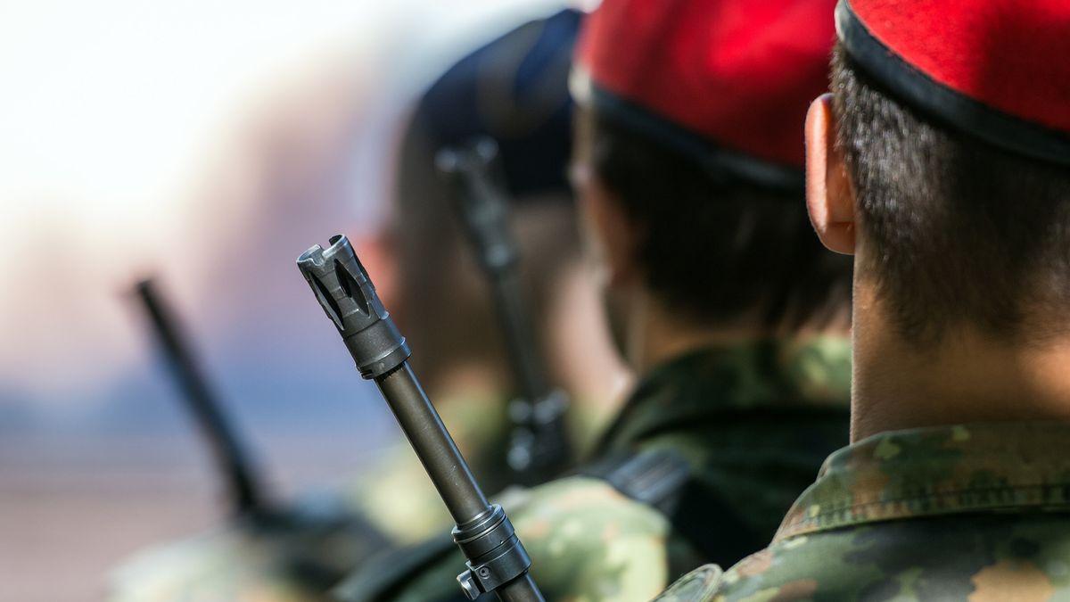 Soldaten der Bundeswehr.