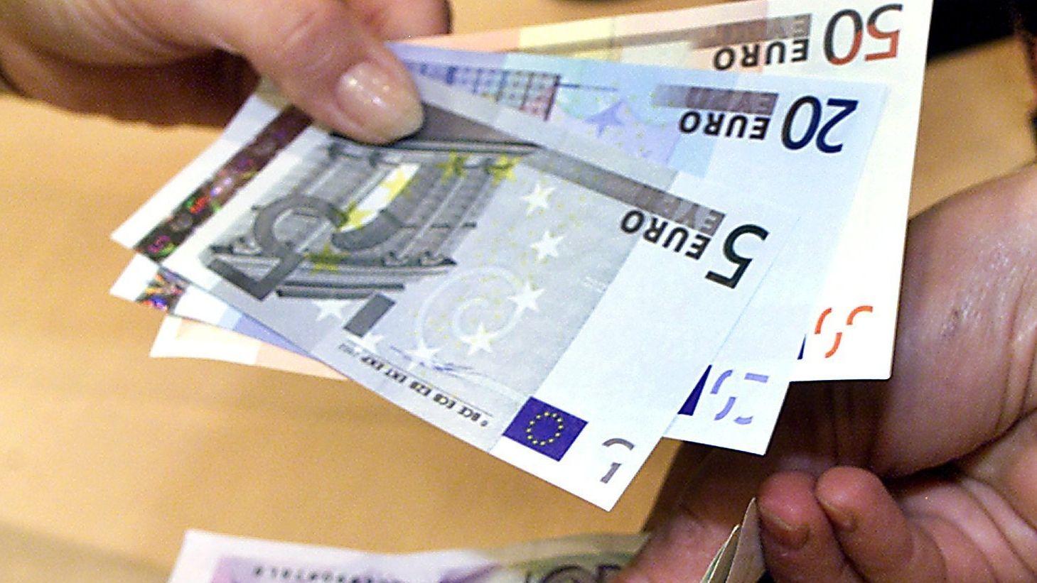 Euro-Banknoten (Symbolbild)