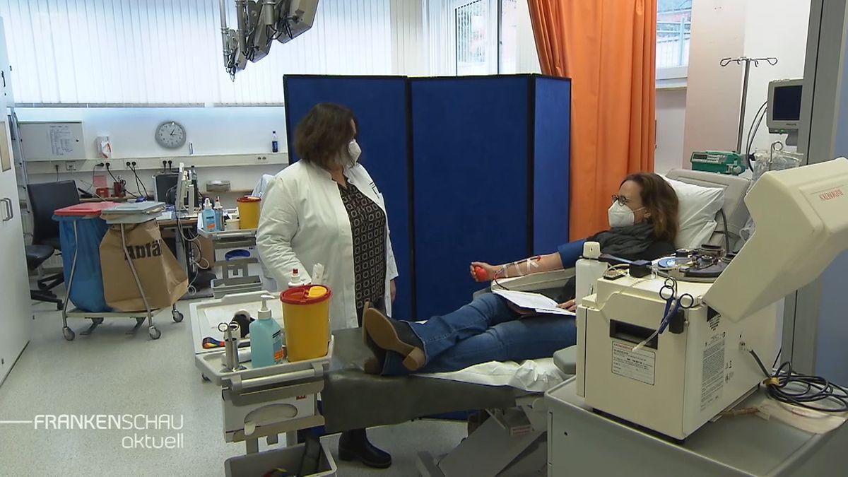 Blutplasmatherapie für Covid-19 Patienten