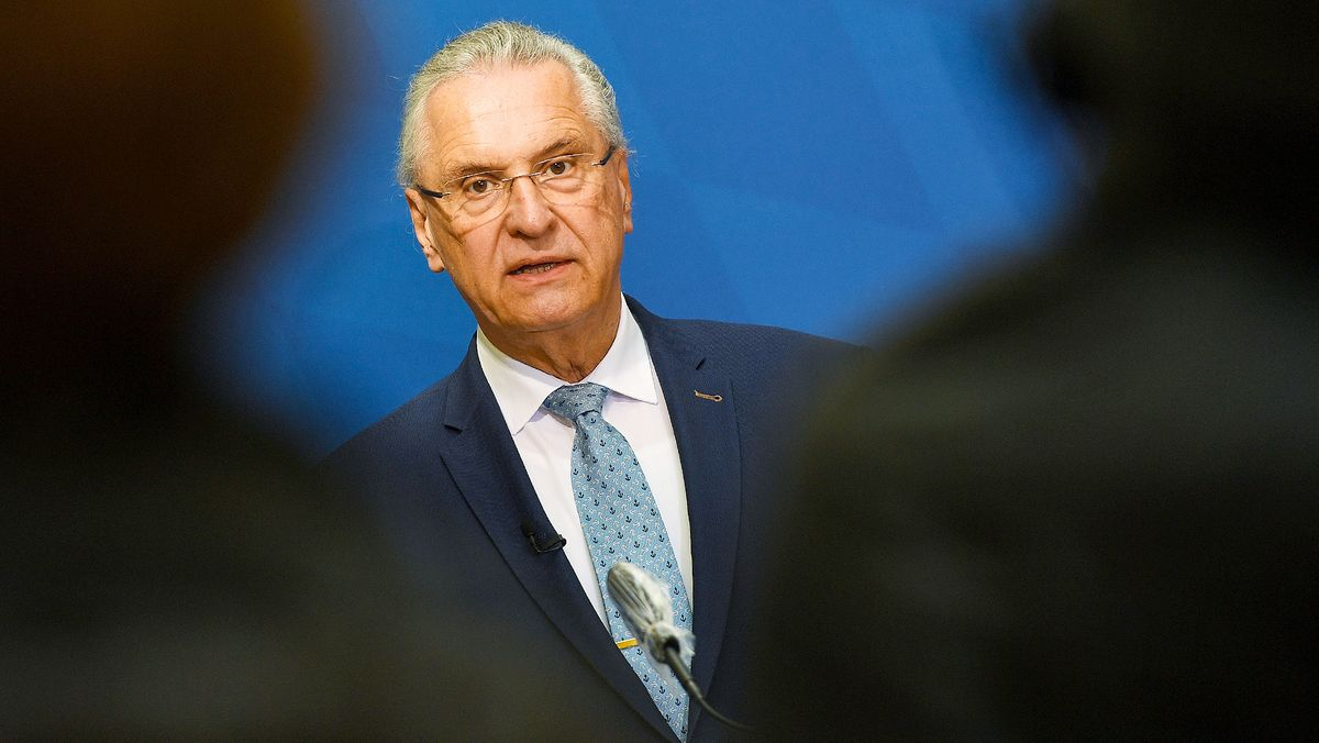 Bayerns Innenminister Herrmann (CSU)