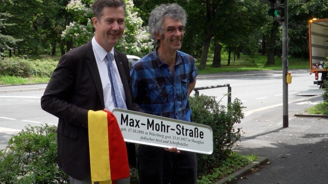 Max-Mohr-Straße in Würzburg
