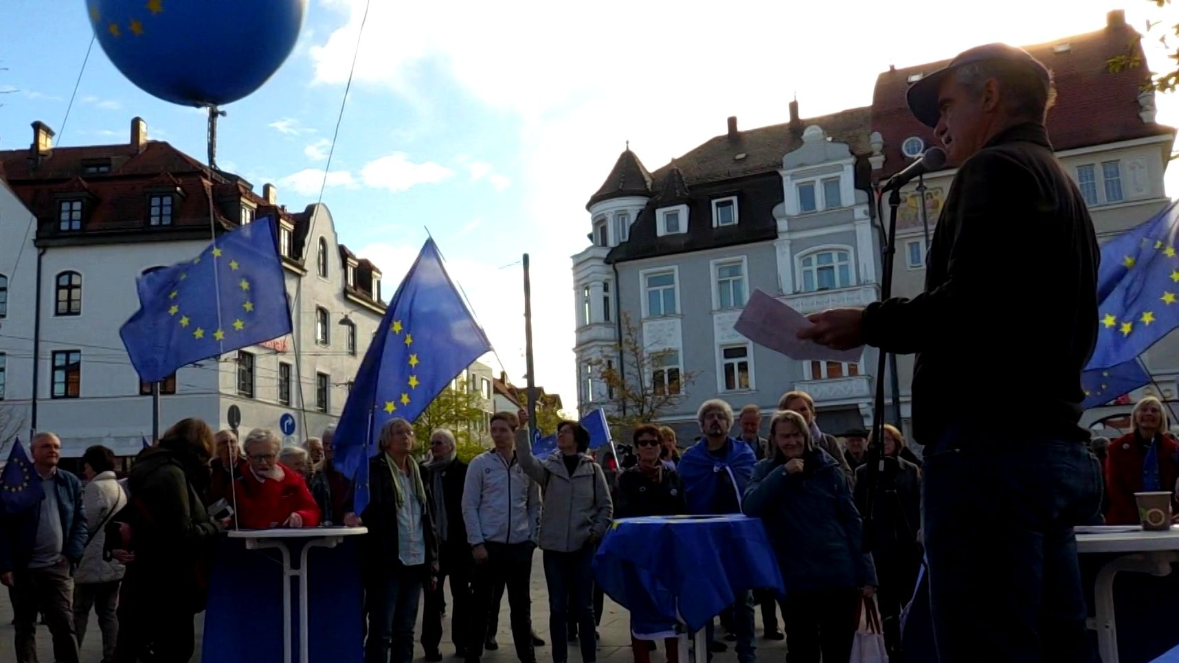 """Pulse of Europe"" - Demo in München-Pasing"