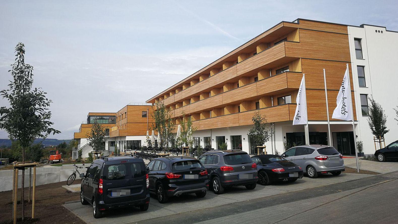 Panoramabild Weinhotel Volkach