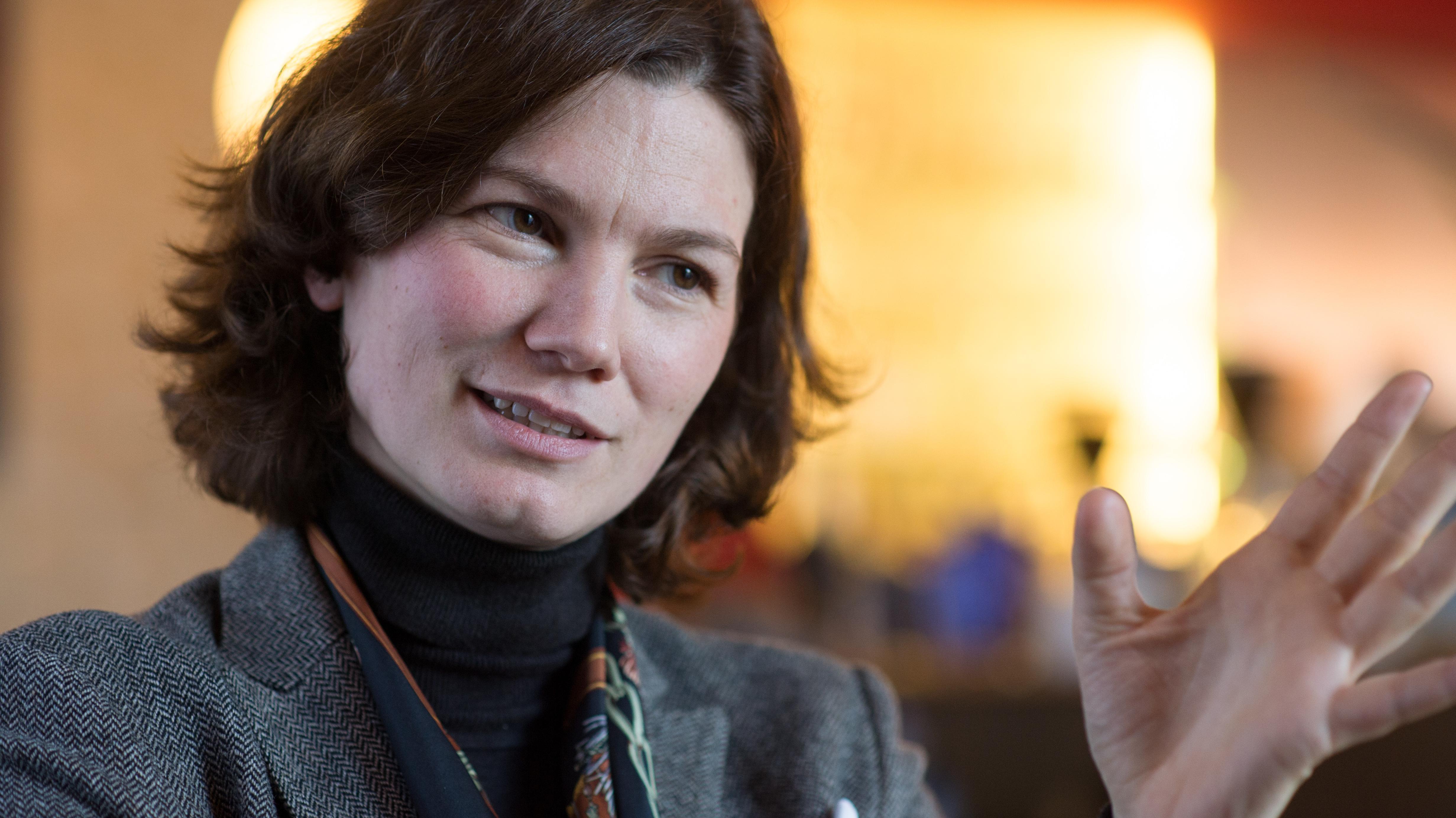 Landrätin Tanja Schweiger von den Freien Wählern