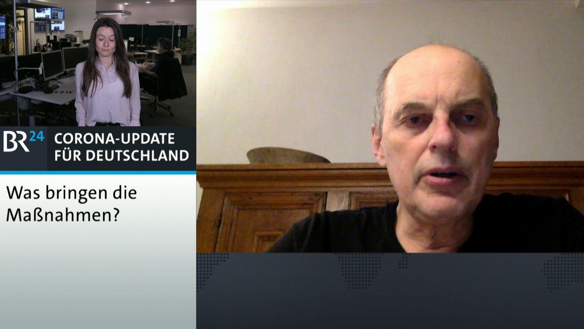 Infektiologe Bernd Salzberger im BR24-Interview
