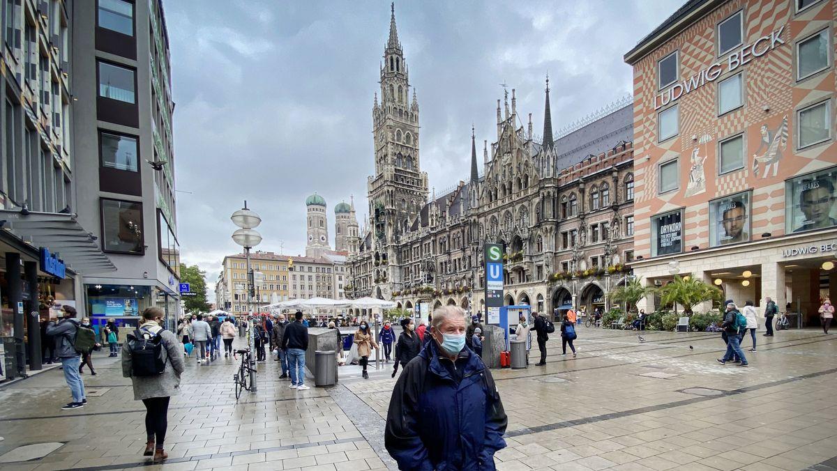 Dunkelrote Corona-Ampel: München überschreitet Inzidenzwert 100