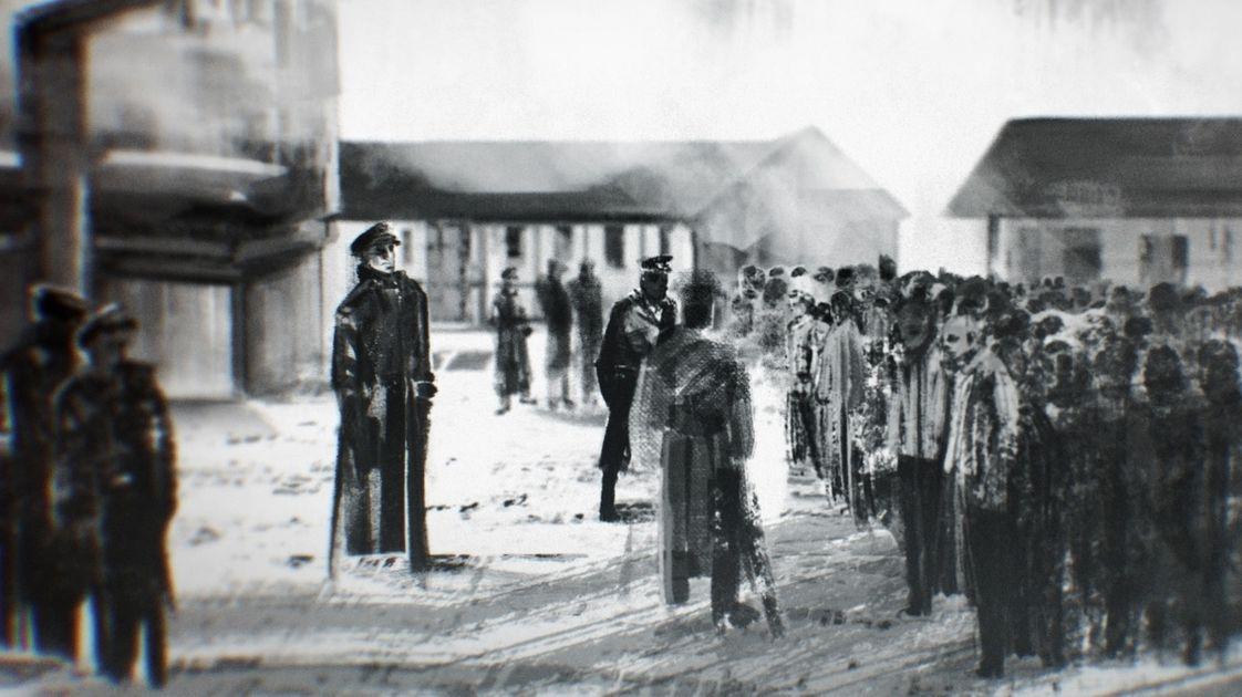 Appellplatz des KL Dachau (Animation)
