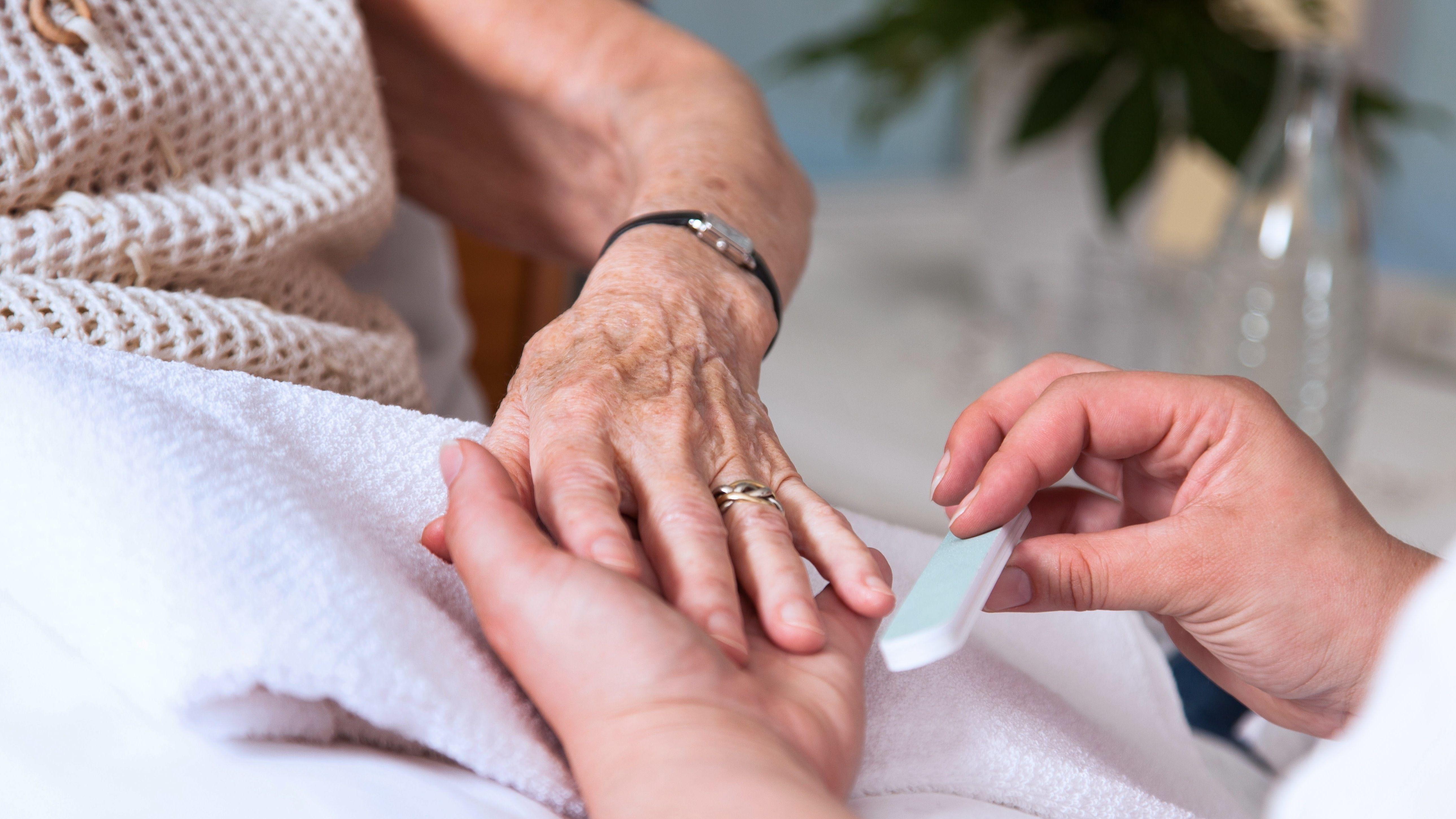 Symbolbild der Pflege