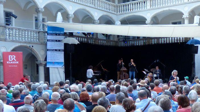 Florian Brandl Quartett beim Jazzweekend im Jahr 2016