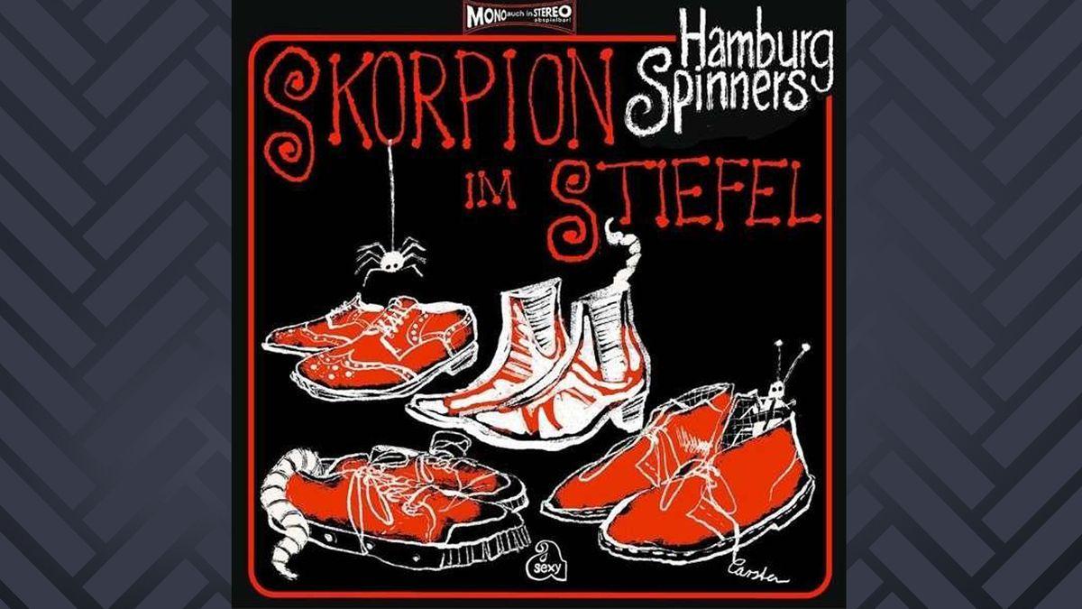 1 Paar Stiefel und 3 Paar Schuhe: Cover der LP Skorpion