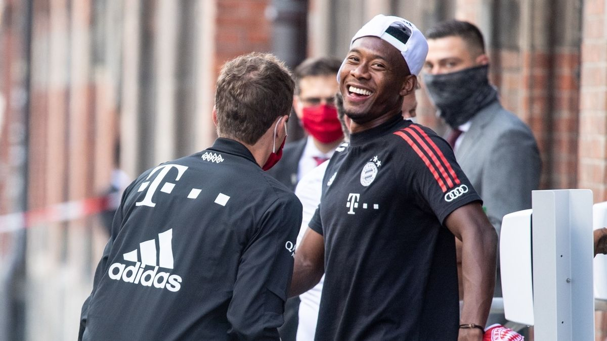 Thomas Müller und David Alaba