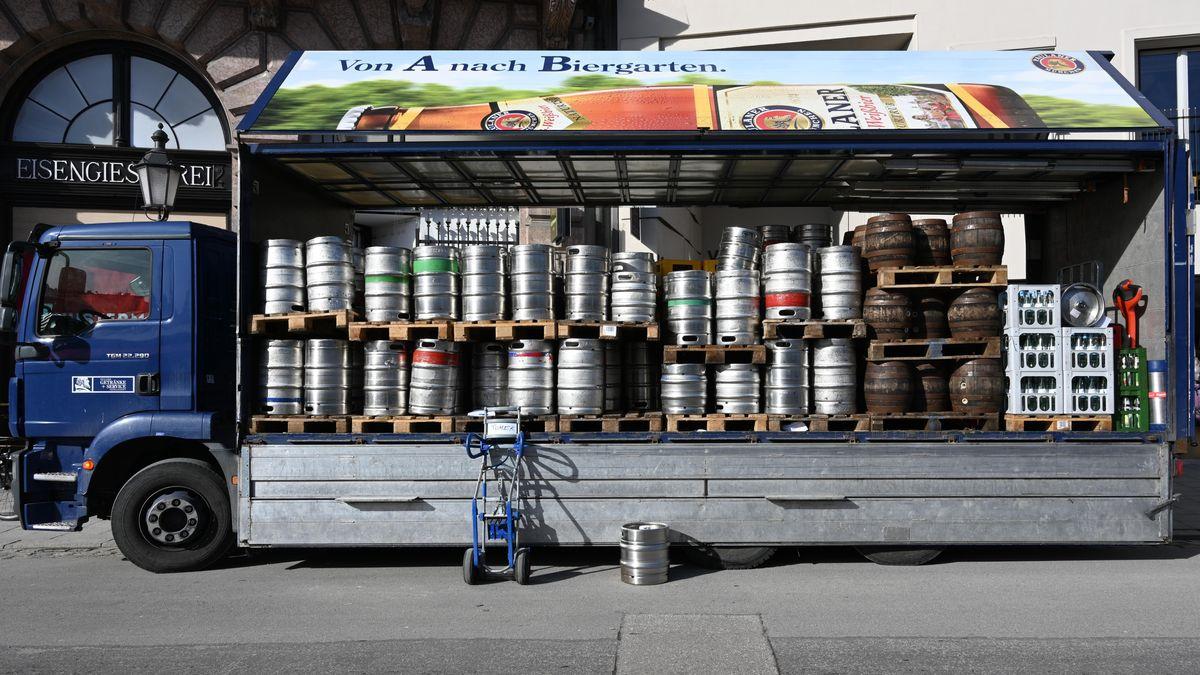 Biertransporter (Symbolbild)