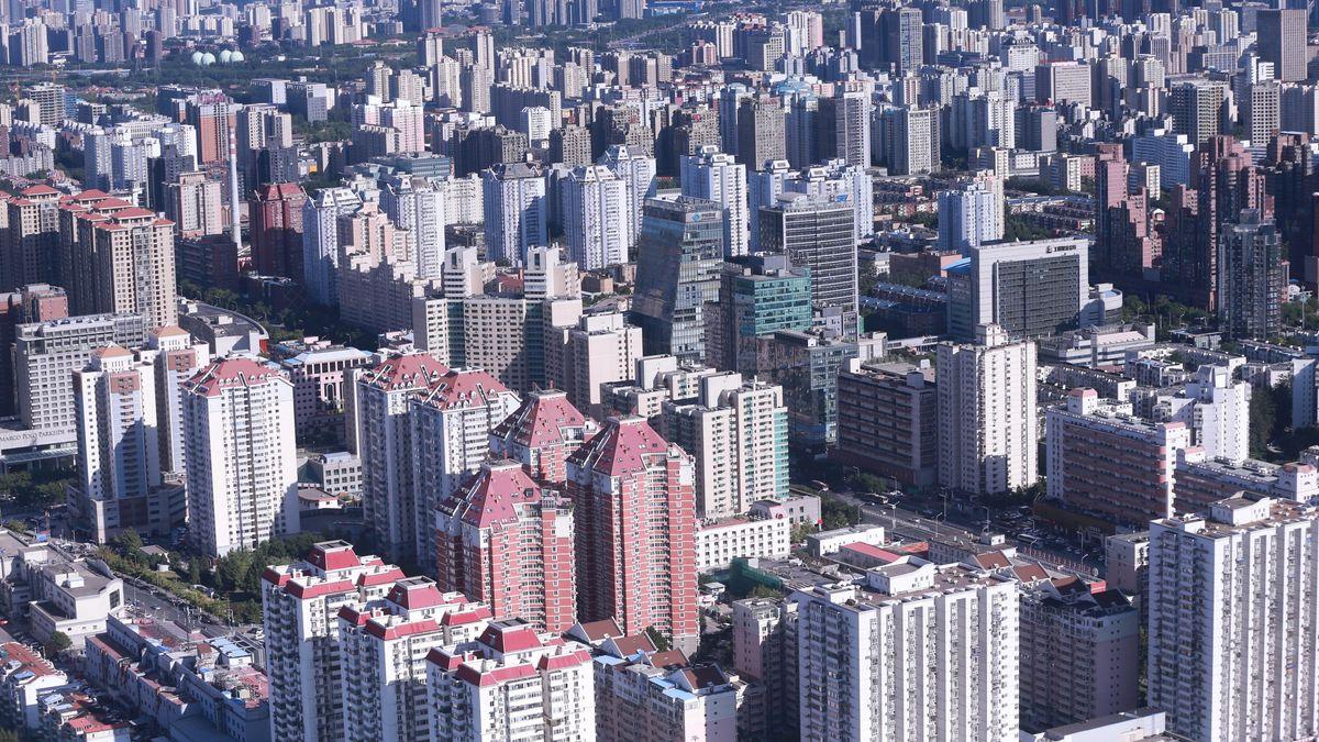 Blick auf Peking