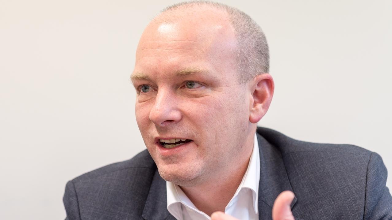 Der vorläufig suspendierte Regensburger Oberbürgermeister Joachim Wolbergs.