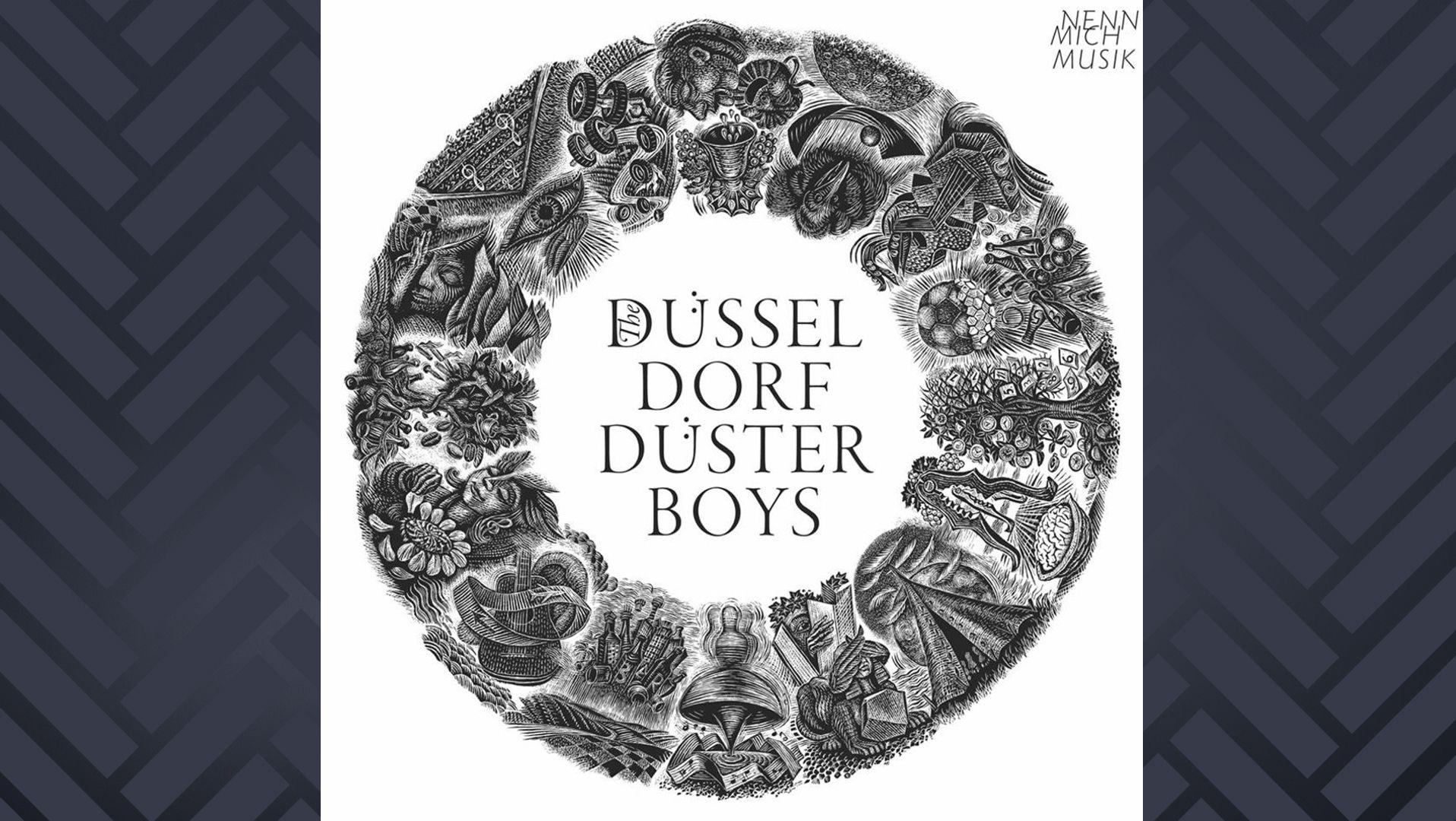"""Albumcover von """"Nenn Mich Musik"""" von den Düsseldorf Düsterboys"""