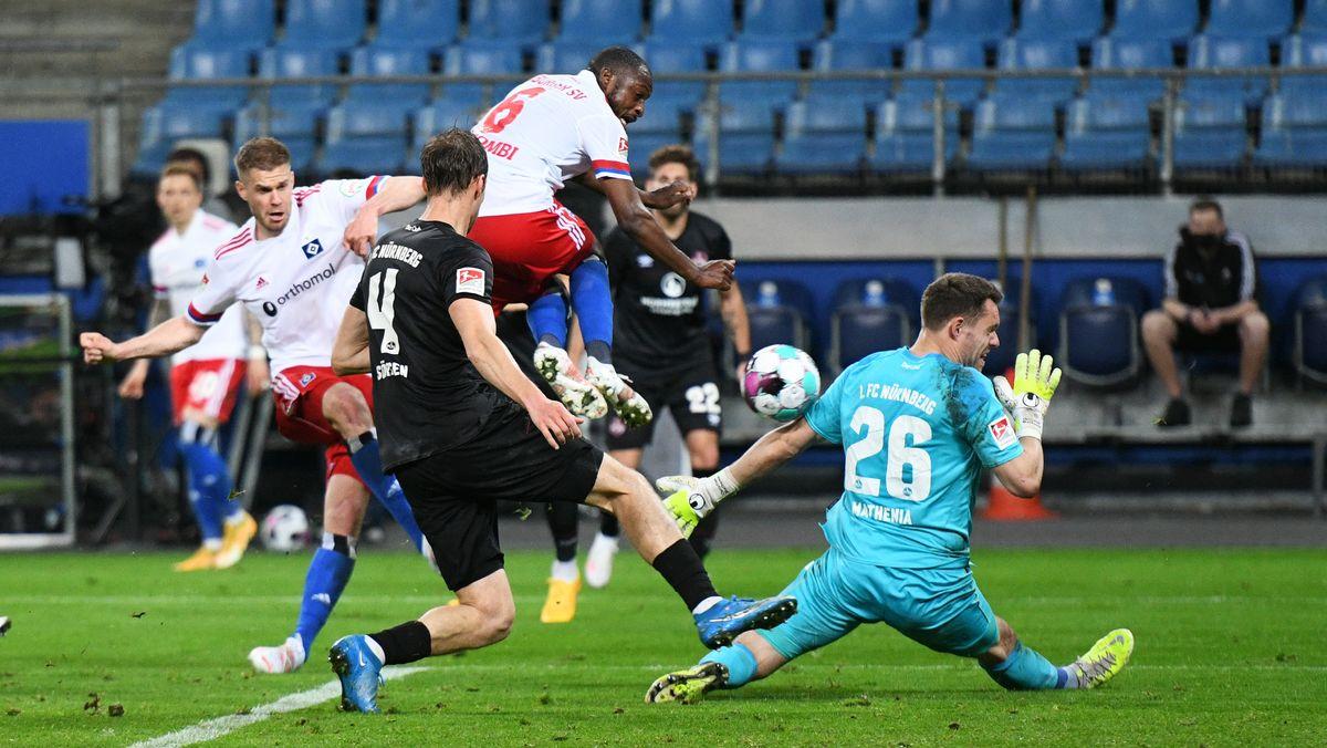 Das 3:1 von Hamburg gegen Nürnberg