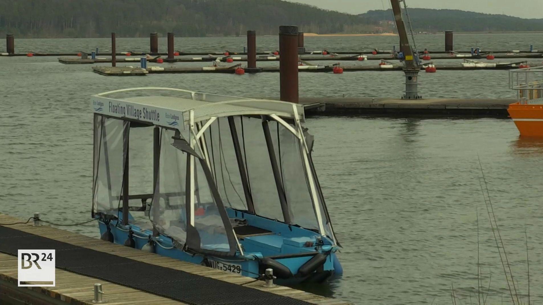 Fränkisches Seenland ohne Besucher