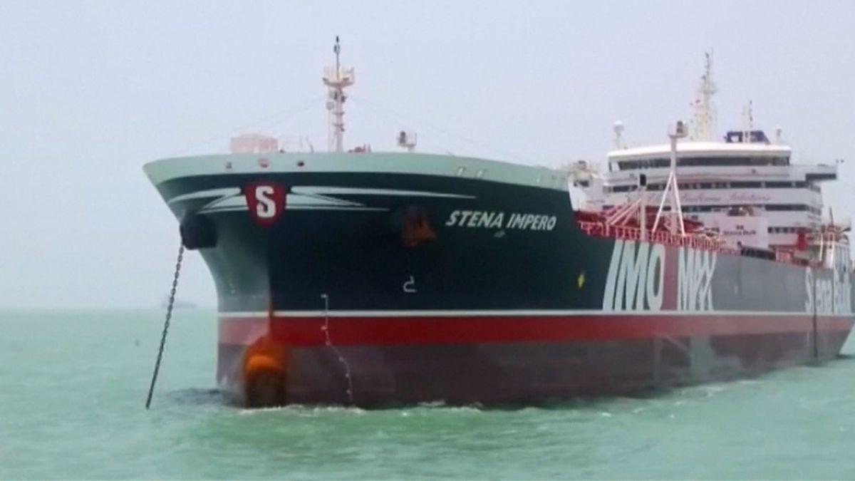 GB-Tanker im Tankerstreit mit Iran